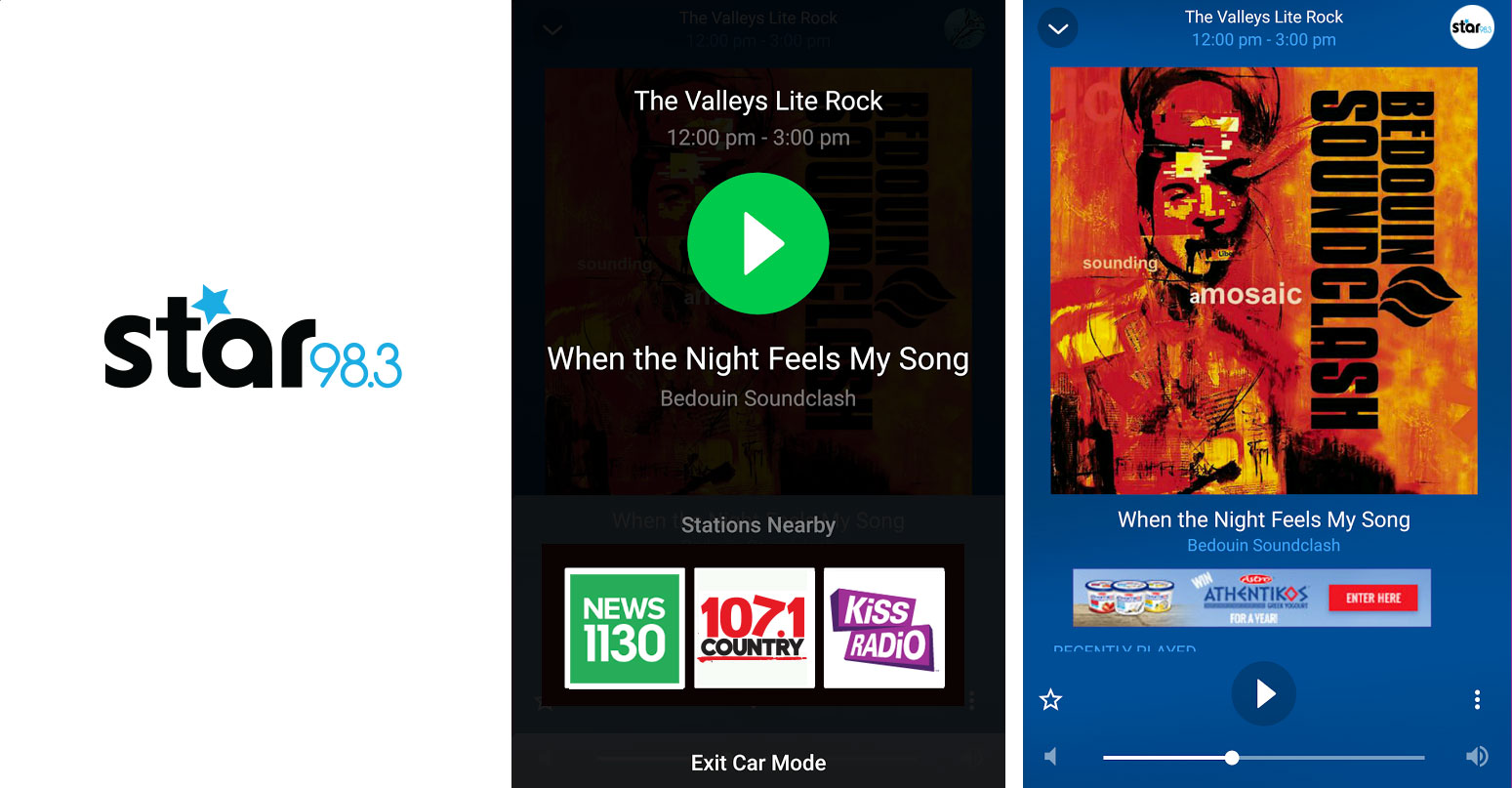 We've completely re-imagined and re-designed the Star 98.3 app! Check out the updates and let us know what you think!