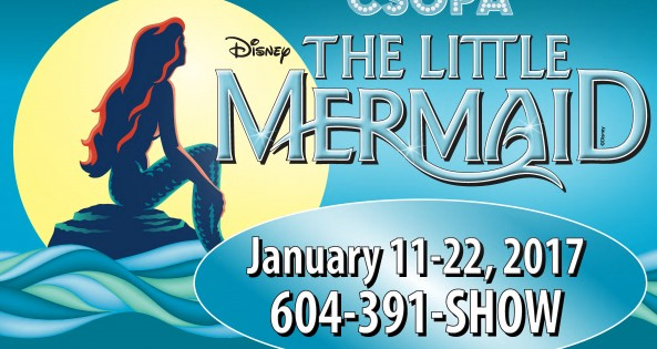 The Little Mermaid ad