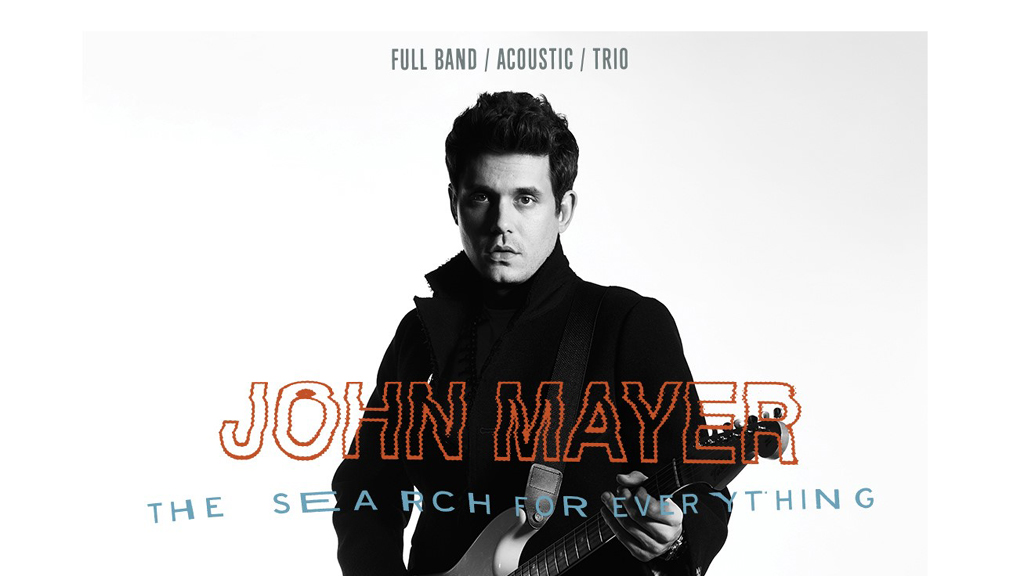 john mayer in search of everything world tour 2017 star 98 3. Black Bedroom Furniture Sets. Home Design Ideas