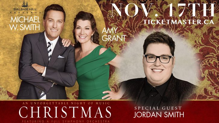 WIN Tickets to Amy Grant and Michael W. Smith's Christmas Tour at ...