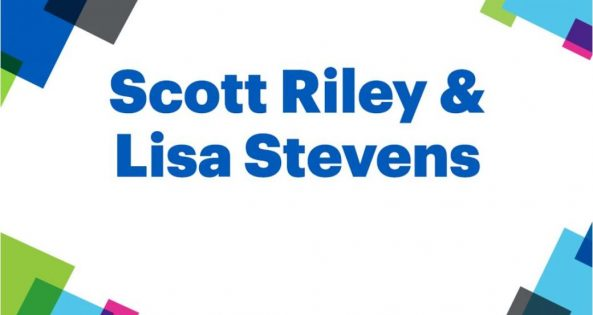 Scott Riley and Lisa Stevens