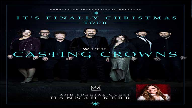 Casting Crowns – Its Finally Christmas Tour