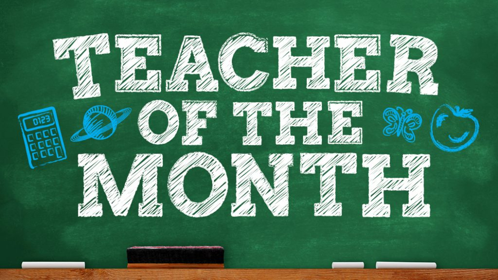 teacher of the month brought to you by sevenoaks shopping centre