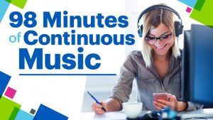 98 Minutes of Continuous Music