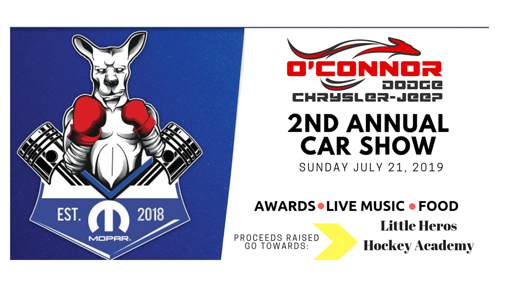 O Connor Chrysler >> Second Annual Car Show At O Connor Dodge Jeep Ram Star 98 3